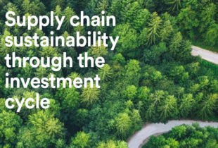 PAI's guide to supply chain sustainability